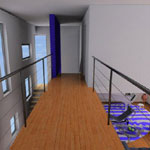Urban Villa01 - Render gallery - architectural rendering